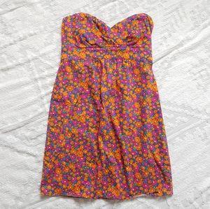 VOLCOM 60s Inspired Mini Dress